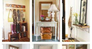 15 Fresh Ideas for Small Entryways