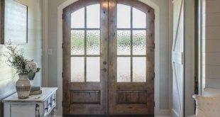 50 Stunning Farmhouse Entryway Design Ideas