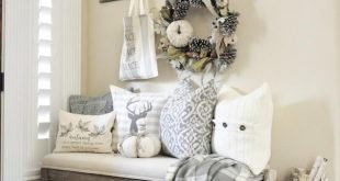 I haven't done this - but love the look of it! I would love this for my entr...