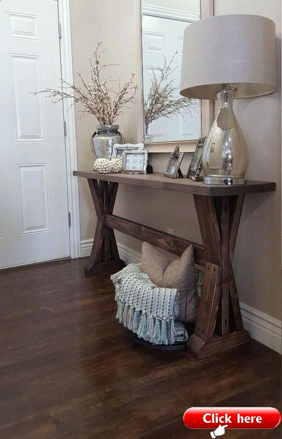 skinny entryway table rustic farmhouse entryway table by on small
