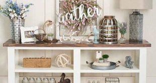 01 stunning farmhouse entryway decor ideas