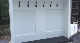 Entryway bench/shoe storage/organization/mudroom/hall tree/coat rack/shoe storage/Entryway bench Mudroom locker Entryway locker