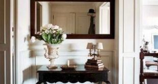 43 Cool Farmhouse Entryway Decorating Ideas - The first impression that guests h...
