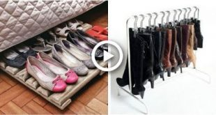 50 Ways to Organize Shoes in Small Space