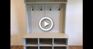Entry Bench & Shelf Walkthrough   NelsoncraftTX