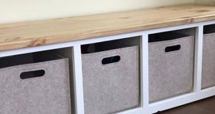Entryway bench / shoe rack / shoe storage / organizer / custom bench / farmhouse bench / mudroom bench