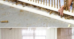 String thick rope from floor to ceiling. Mentally section off an office area wit...